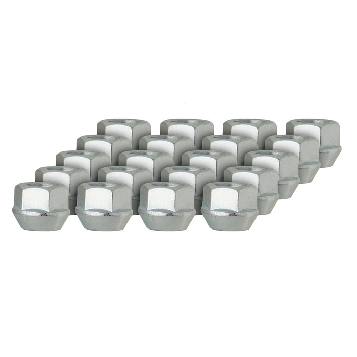 M14x1.5 Open End Bulge Acorn Lug Nut - 22mm Hex - 60 Degree Cone Seat