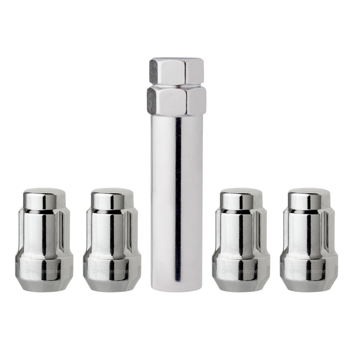"1/2""-20 Spline/Tuner Locking Wheel Lug Nuts for Aftermarket Wheels"
