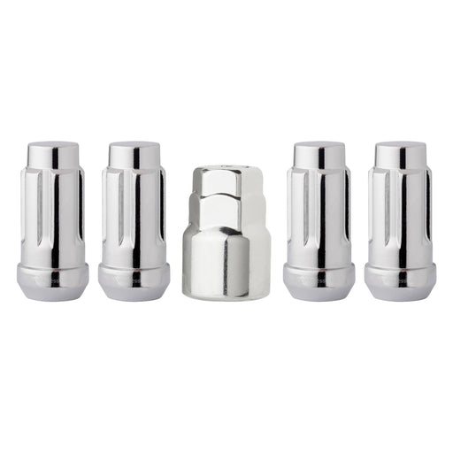 "1/2""-20 Bulge Acorn XL Locking Wheel Lug Nuts (3/4"" and 13/16"" Hex)"