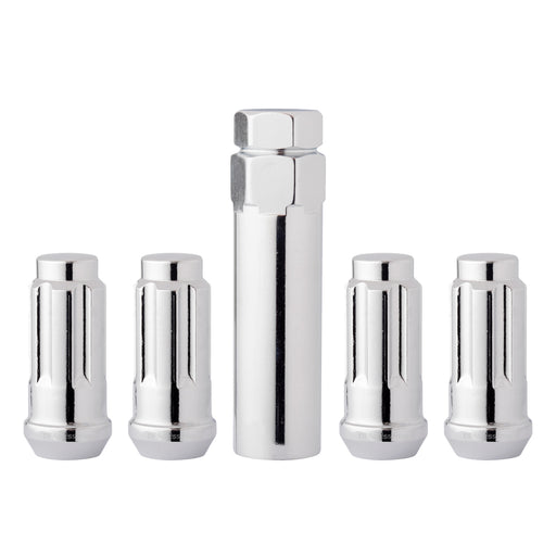"1/2""-20 Spline/Tuner XL Locking Wheel Lug Nuts for Aftermarket Wheels"