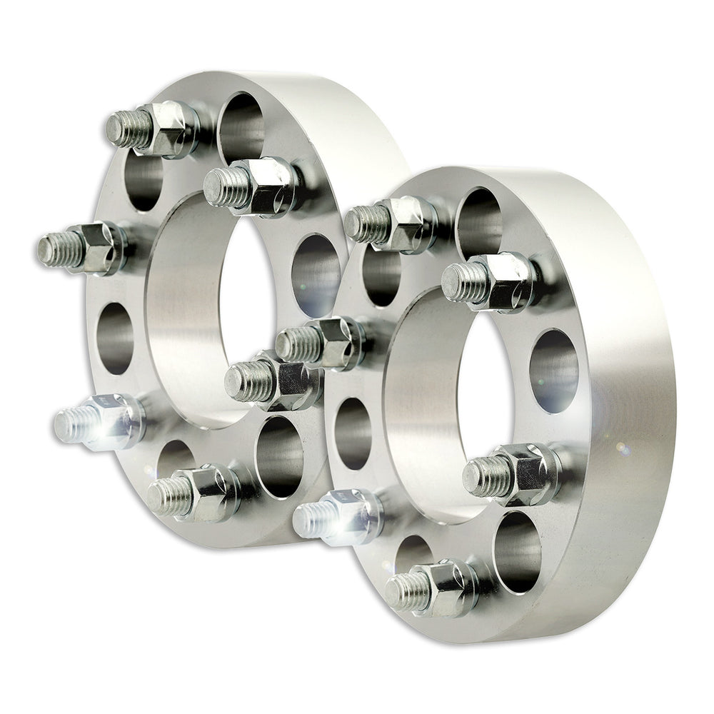 "Set of Two (2) 1.5"" Bolt-On Wheel Spacers (6x135 - M14x2.00)"