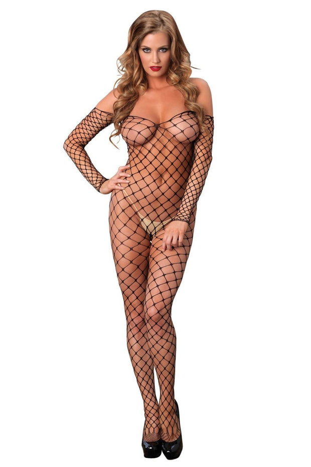 Off the shoulder Bodystocking-Leg Avenue-LouLou