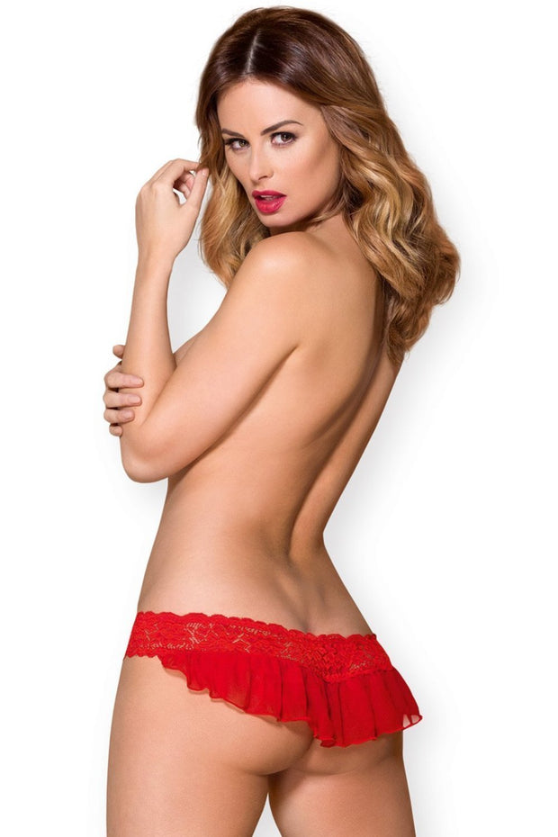 Red Temptation Stringit-Obsessive-LouLou