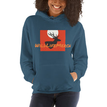 Load image into Gallery viewer, Hooded Sweatshirt - Wild_Life_Merch