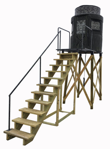 8' Tower With Stairs