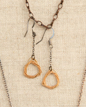 Load image into Gallery viewer, Tri-knot Earrings