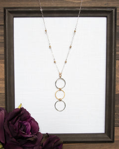 3 Circle Necklace
