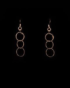 3 Circle Earrings