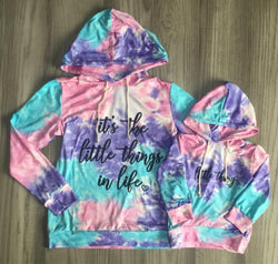 It's the Little Things in Life & Little Thing Lightweight Hoodie - Mom & Me