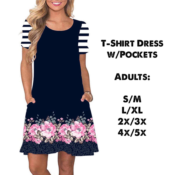 Buttery Soft T-Shirt Dress with Pockets