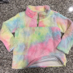 Unicorn Soft Fuzzy Pullover for kids - Version 2