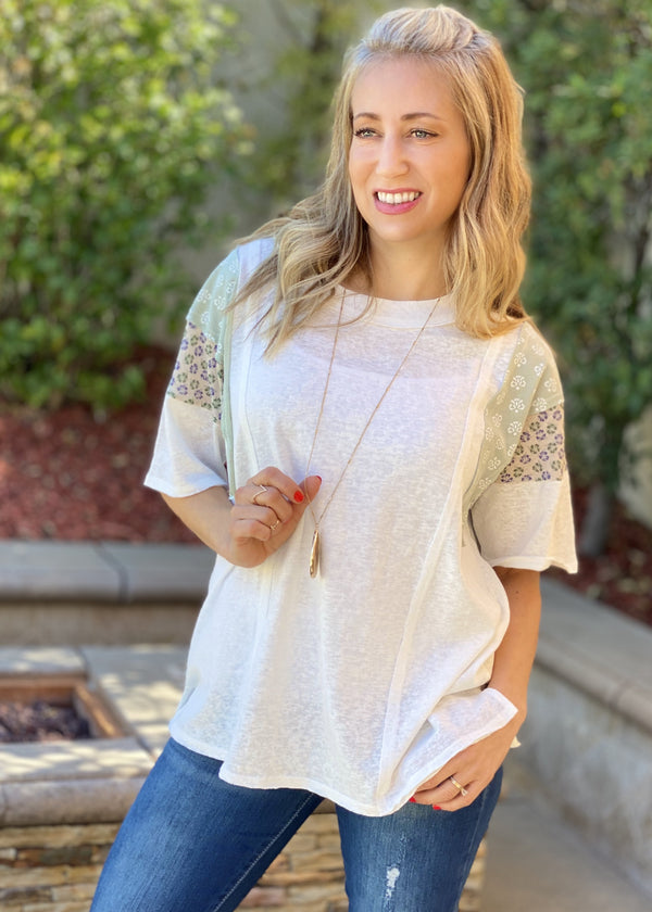 Summer Breeze Boxy Tee