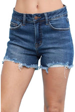 Judy Blue Shorts Cutoff Medium Wash 1568