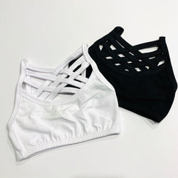 Baby Bralette White for Girls