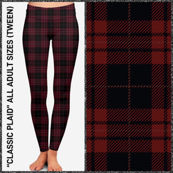 Classic Plaid Leggings & Joggers