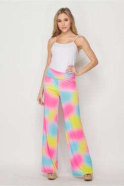 HoneyMe Summer Lovin' Bright Tie Dye Lounge Pants