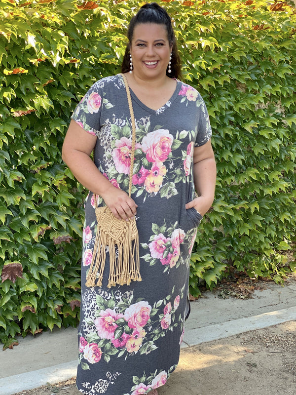 Going to Breakthrough Maxi Dress