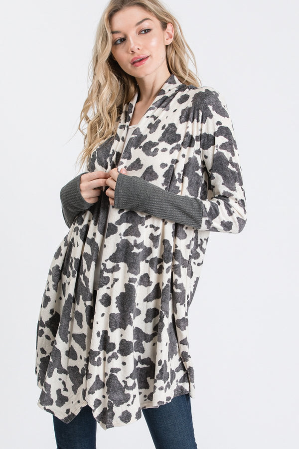 Country Bumpkin Thumbhole Cardigan
