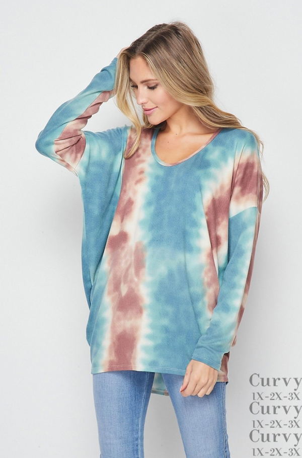 On The Horizon Long Sleeve Top