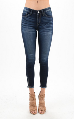 KanCan Low Rise Ankle ZIP Skinny