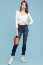 Judy Blue Non-Distressed Rayon Relaxed Skinny Jeans