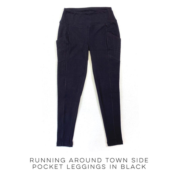 ARB Running Around Town Side Pocket Leggings in Black