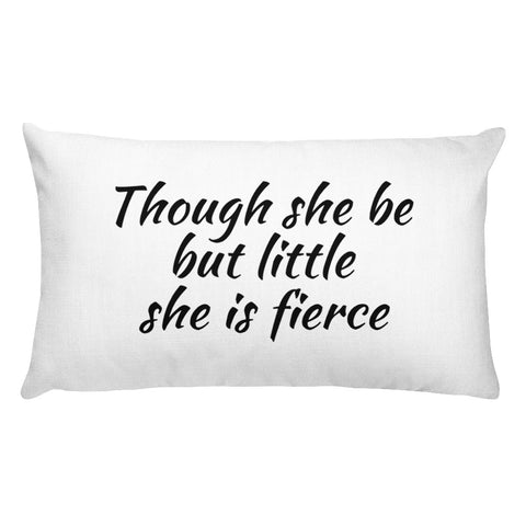 Little she is Fierce Premium Pillow