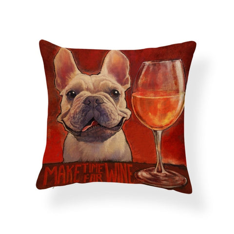 French Bulldog & Rosé