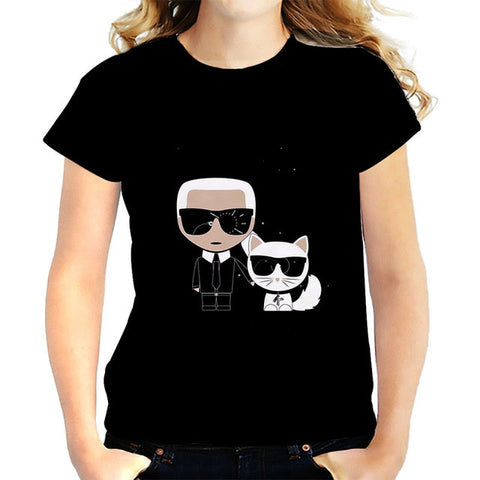 Karl Lagerfeld Iconic Graphic Tee