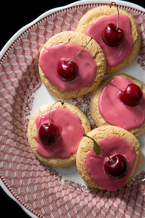 Cherry Spice Cookies