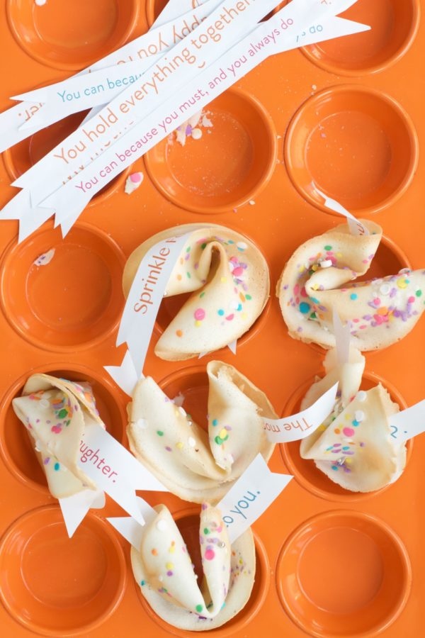 SPRINKLE FORTUNE COOKIES