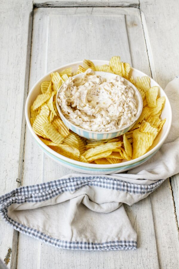 Recipes By Libbie Summers, Homemade French Onion Dip