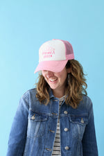 Sprinkle Queen Trucker Hat