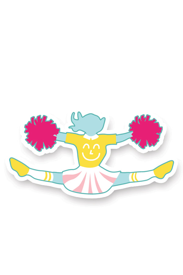 Team Yum Yum Smile Shop Varsity Cheerleading and Band Sticker Set Cheerleader
