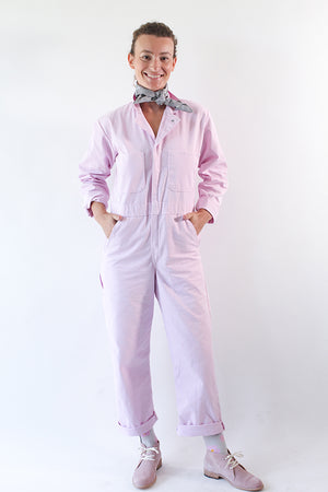 UTILITY SUIT IN LILAC