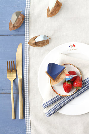 YACHTIE LINEN NAPKIN SET (SET OF 4)