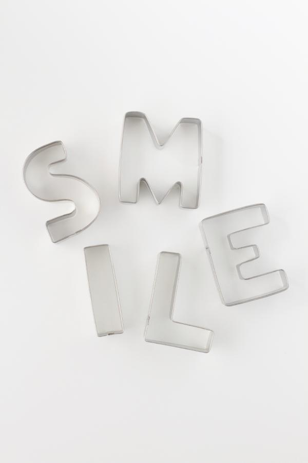 SMILE Cookie Cutter Set