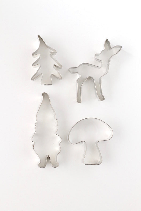 Happy Gnome Land Cookie Cutter Set