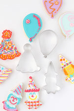 Birthday Party Time Cookie Cutter Set