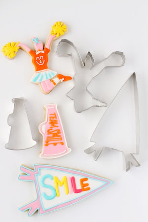 Yum Yum Cheer Cookie Cutter Set