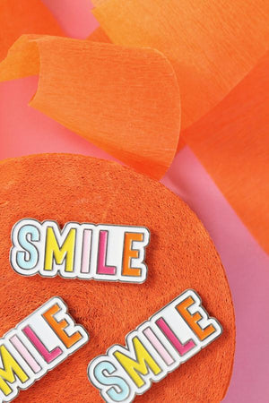Smile Enamel Pin
