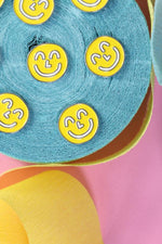 Yum Yum Smiley Face Enamel Pin