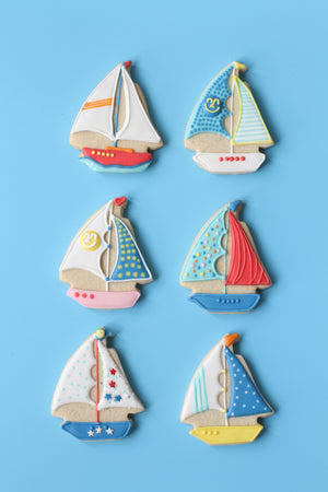Yum Yum Yachtie Cookie Cutter Set