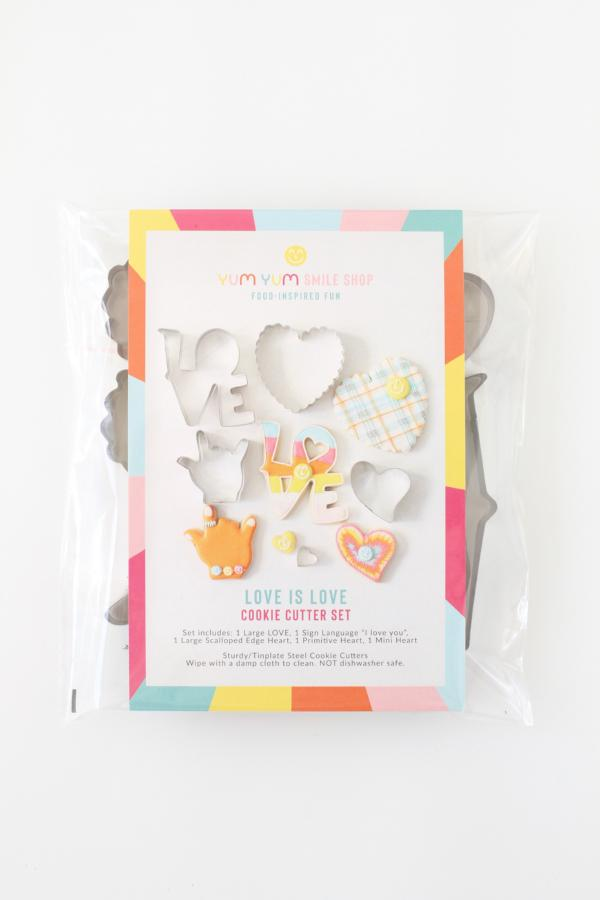 Love is Love Cookie Cutter Set