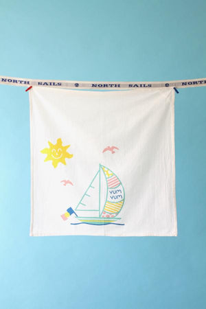 YUM YUM YACHTIE KITCHEN TOWEL