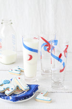 Vintage Red, White and Blue Glasses