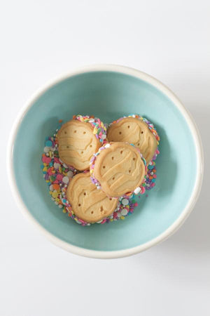 Girl Scout Sprinkle Shortbread Cookies