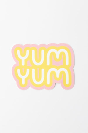 "4"" Yum Yum Bubble Gum Sticker"