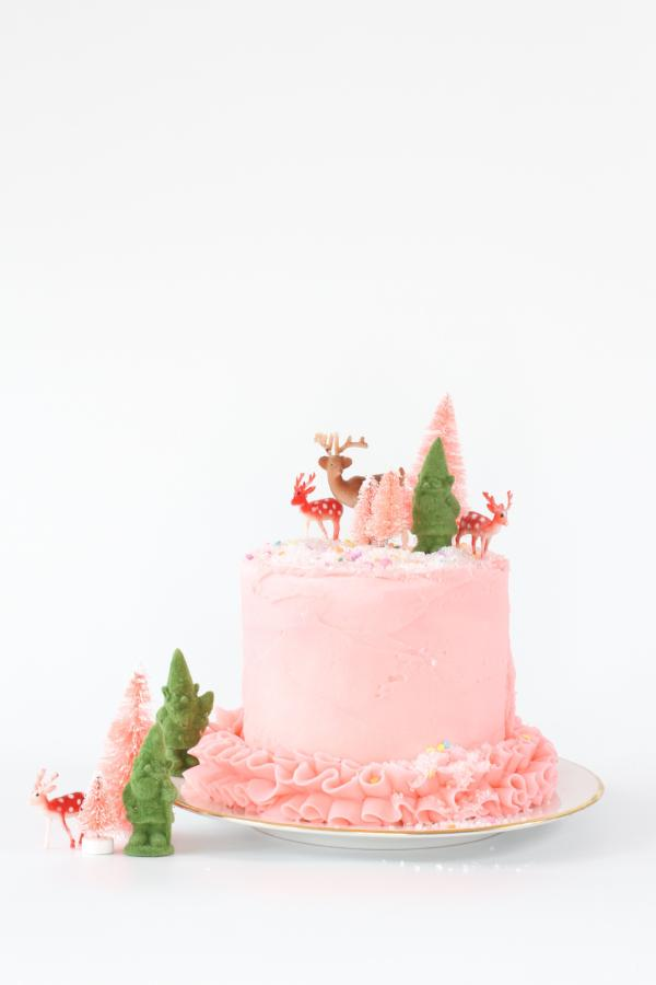 Magical Gnome Forest Cake Topper Kit