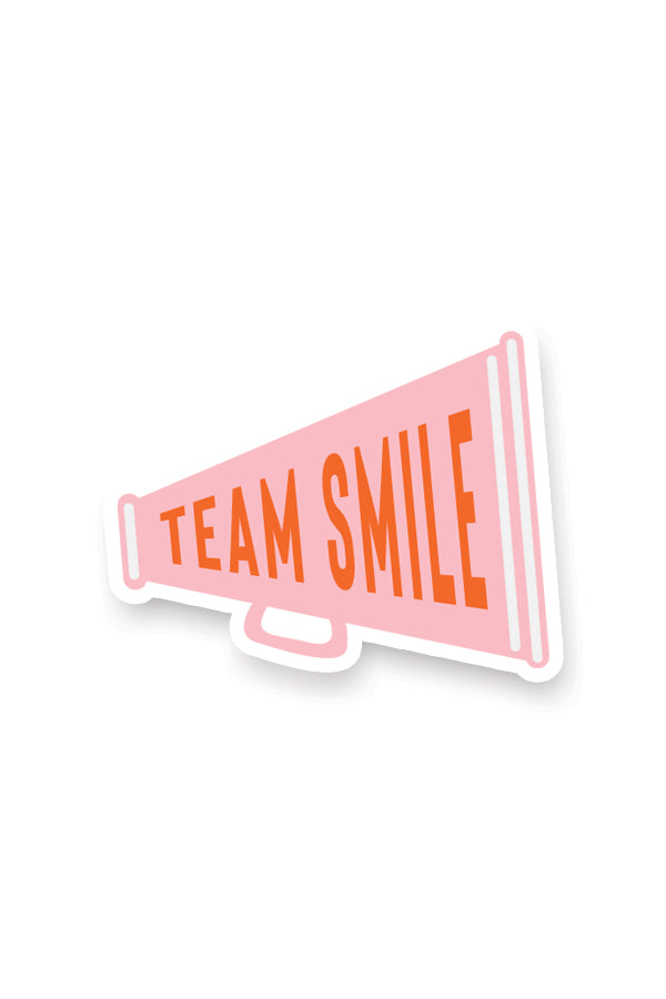 Team Yum Yum Smile Shop Varsity Cheerleading and Band Sticker Set Drum Megaphone